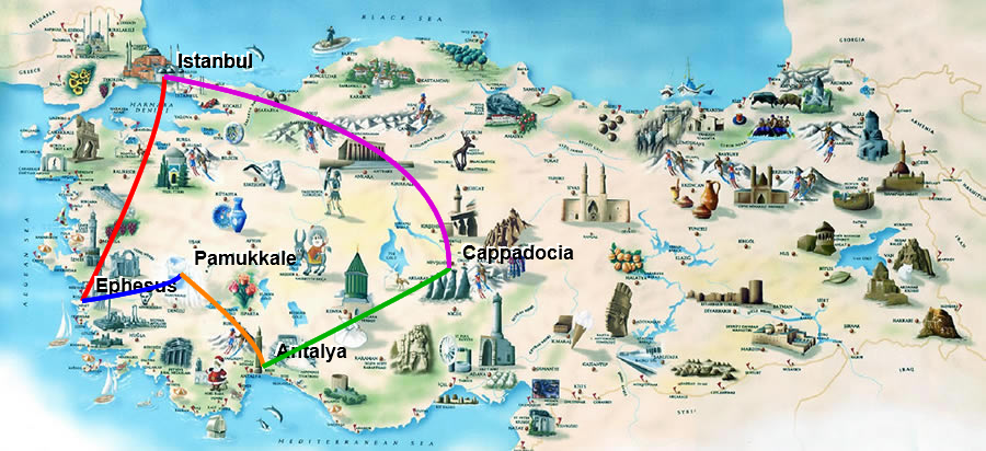 Fascinating Turkey Route