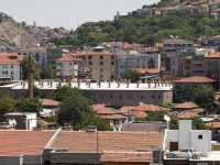 A general view of Ankara City's architectures and houses.