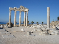Ruins of Ancient civilizations in Antalya