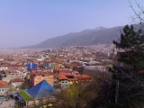 A general view of the Bursa City.