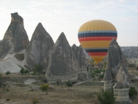 Another great shot among the rocks of Cappadocia during Balloon Ride
