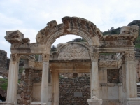 Hadrian Temple Ephesus Turkey